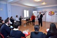 განათლების მინისტრის სტუმრობა AIA-GESS-ში