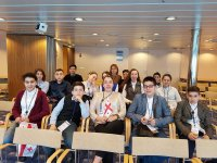 აია-GESS-ის მოსწავლეები  რიგასა და სტოკჰოლმში