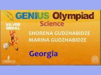 გიმნაზია აია-GESS-ის მოსწავლეები  GENIUS OLYMPIAD-ზე