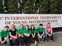 აია-GESS-ის მოსწავლეები მათემატიკის მე-9  საერთაშორისო ტურნირზე